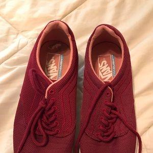 Vans running shoes